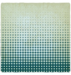 Blue dotted old background vector