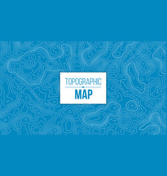 creative of topographic map vector image