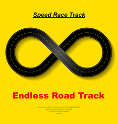 Endless race background vector