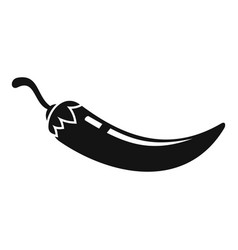 Harvest chili pepper icon simple style vector