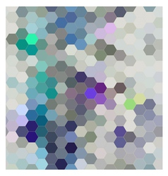 Hexagon seamless patern abstract background vector image