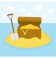 Island treasures vector