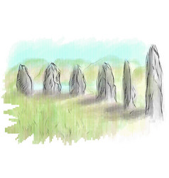 orkney vector image