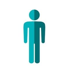 Pictogram icon Person design graphic vector image