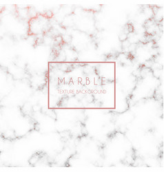 Rose gold marble texture vector