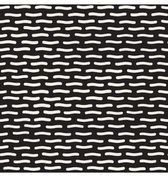 Seamless Horizontal Rounded Lines Pattern vector