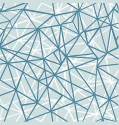 silver grey blue wire geometric mosaic vector image vector image