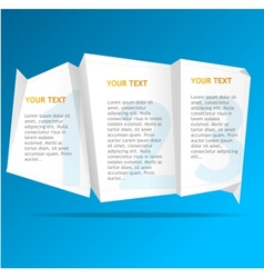 speech template vector image vector image