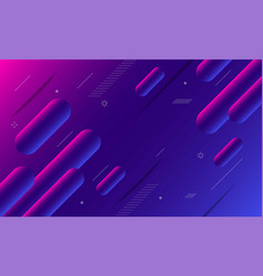 abstract gradient geometric shape background vector image