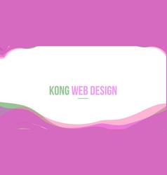 Abstract header website pink wave vector