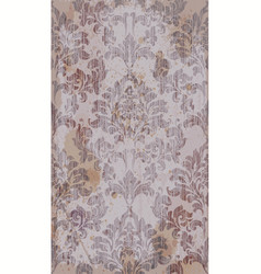 baroque royal pattern fabric damask vector image