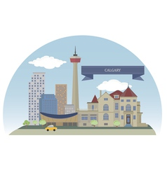 Calgary vector image