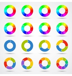 Circle arrows template for your business project vector