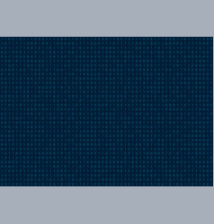 computer background binary code seamless pattern vector image