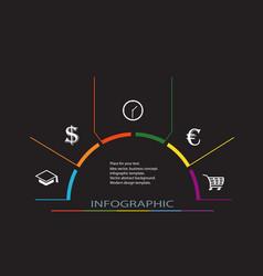 conceptual design template vector image