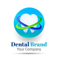 Dentistry logo design template for your business vector