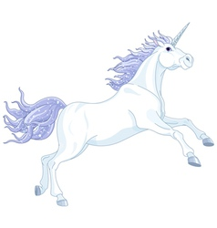 Fairy unicorn vector image