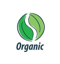 logo organic vector image