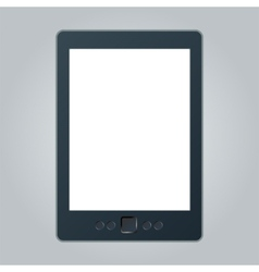 Portable e-book reader with two clipping path for vector