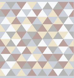 Scandinavian abstract triangular art background vector