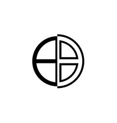 Window logo design vector