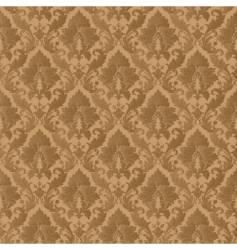 damask patern vector image