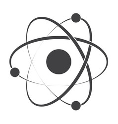 model atom icon vector image
