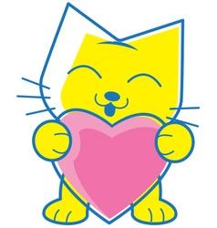 Love Pet vector image vector image