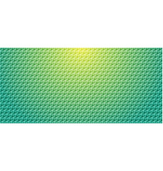 abstract green gradient color geometric cube vector image