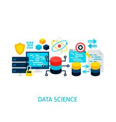Data science concept vector
