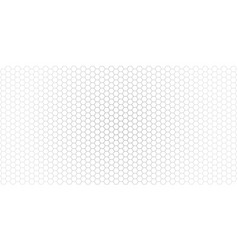 Gradient honeycomb background banner isolated vector