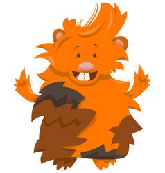 Guinea pig cartoon character vector