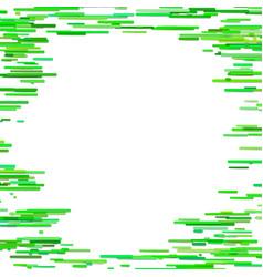 horizontal stripe design background - blank frame vector image