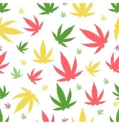 Marijuana seamless pattern vector