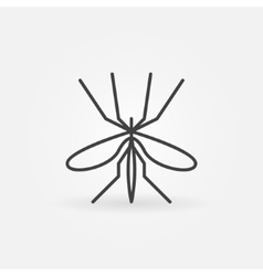 Mosquito icon or logo vector