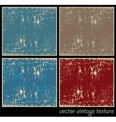 vintage texture vector image
