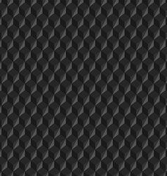 Dark Cubes Texture vector image vector image