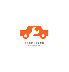 car repair logo vector image