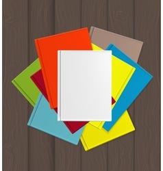 Superiority E-Book Over Paper Books Concept vector image