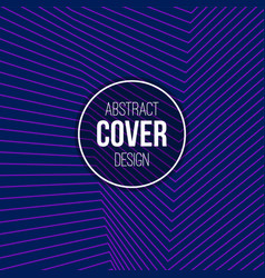 abstract creative concept layout template stripes vector image