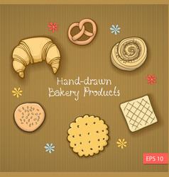 Bakery produkt vector