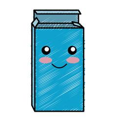 Drugs box kawaii character vector