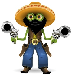 frog criminal vector image