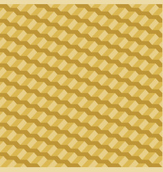 Geometric seamless pattern yellow 3d stairs vector