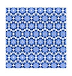 Mosaic Flower Background vector