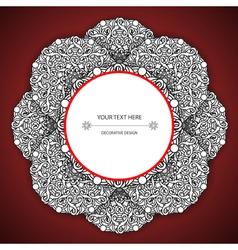 Olour decorative design element vector