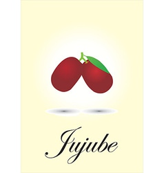 Jujube vector image vector image