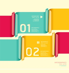 Modern soft color Design template vector image vector image