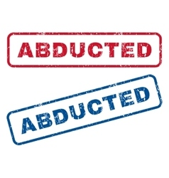 Abducted Rubber Stamps vector