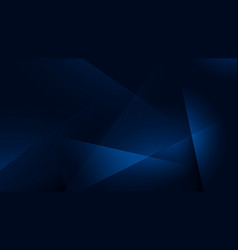 Blue abstract futuristic geometric poly technology vector